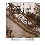 Savannah Sepia - Stoops Shower Curtain