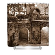 Savannah Sepia - River Walk Shower Curtain