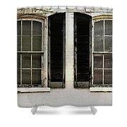 Savannah Shutter Shower Curtain