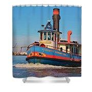 Savannah Tug Shower Curtain