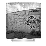 Save A Landmark Shower Curtain