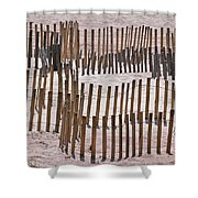 Save The Dunes Shower Curtain