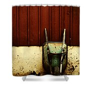 Saving Daylight Shower Curtain by Dana DiPasquale