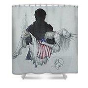 Saving Liberty Shower Curtain