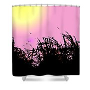 Saw Grass Shower Curtain