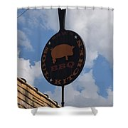 Saws Bbq And Soul Food Shower Curtain