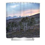 Sawtooth Light Shower Curtain