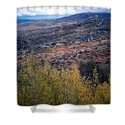 Sawtooth National Forest 1 Shower Curtain