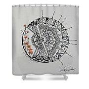 Saxifraga 'peter Pan' Shower Curtain