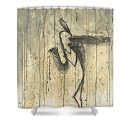 Saxophone A Series Of Works  Shower Curtain