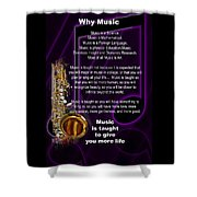 Saxophone Photographs Or Pictures For T-shirts Why Music 4819.02 Shower Curtain