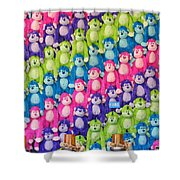 Say Hello To My Little Friends Shower Curtain