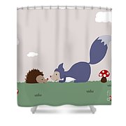 Say Yes To New Adcentures Shower Curtain