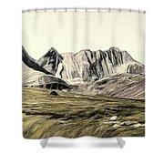 Sayan Landscape Shower Curtain