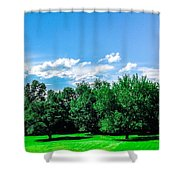 Saying Good Bye To Spring Shower Curtain