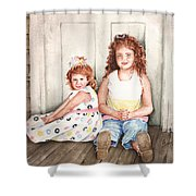 Sayler And Tayzlee Shower Curtain