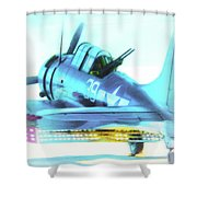 Sbd Dauntless Shower Curtain