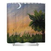 Sc Sunset  Shower Curtain