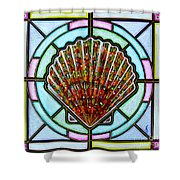 Scallop Shell 1 Shower Curtain