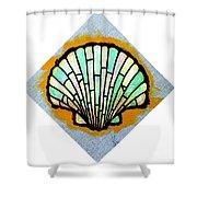 Scallop Shell Shower Curtain