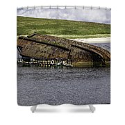 Scapa Flow Shower Curtain