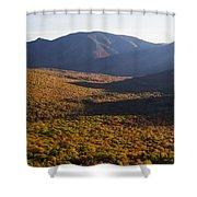 Scar Ridge Autumn Shower Curtain