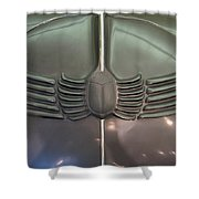 Scarab Hood Shower Curtain