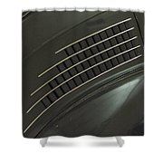 Scarab Lines Shower Curtain