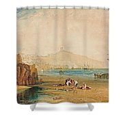 Scarborough Town And Castle Shower Curtain