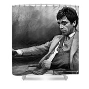 Scarface 2 Shower Curtain