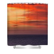 Scarlet Moods Shower Curtain