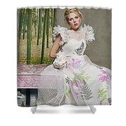 Scarlett Johansson Shower Curtain