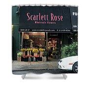 Scarlett  Rose Shower Curtain