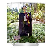 Scarry Potter Scarecrow At Cheekwood Botanical Gardens Shower Curtain