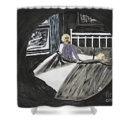Scary Dreams Shower Curtain