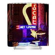 Scatt Jazz Lounge 030318 Shower Curtain