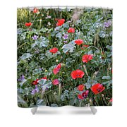 Scattered Everywhere Shower Curtain
