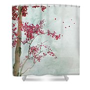 Scattered To The Four Winds Shower Curtain