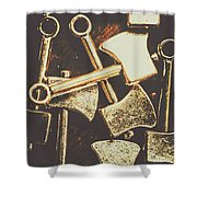Scattering Axes Shower Curtain