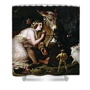 Scene From A Midsummer Night's Dream Shower Curtain