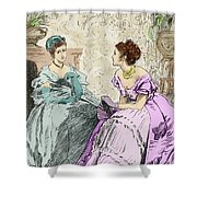 Scene From Anthony Trollope's Novel He Knew He Was Right Shower Curtain
