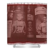 Scene O Noir Shower Curtain