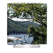 Scenery Shower Curtain