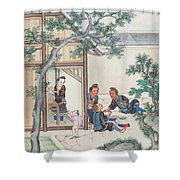 Scenes Of Daily Life Shower Curtain