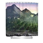 Scenic Drive Shower Curtain