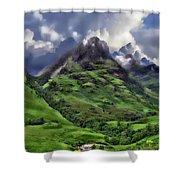 Scenic Glen Coe Shower Curtain