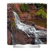 Scenic Gooseberry Falls Shower Curtain