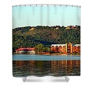 Scenic Lake Guntersville Shower Curtain