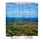 Scenic Road To Zagreb Shower Curtain