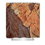 Scenic Sandstone In Valley Of Fire Shower Curtain
